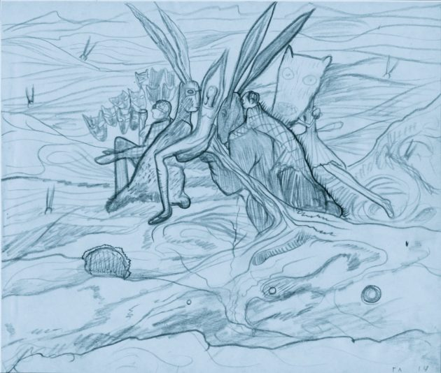 Глюкля (Наталья Першина-Якиманская). «Вариации на тему русского леса», 2012